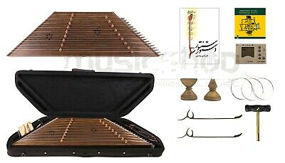 Quality Santoor Santour Santur Dulcimer with hard case and accessories