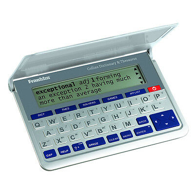 Franklin DMQ-570 Collins English Dictionary With Thesaurus & Spell Checker