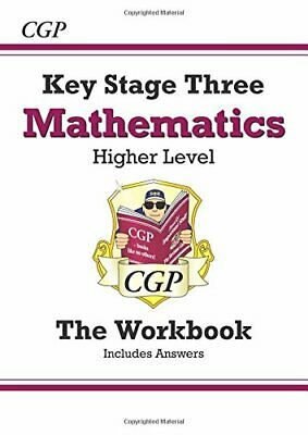 KS3 Maths Workbook (with answers) - Higher (CGP... by Parsons, Richard Paperback