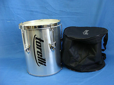 "8"" Talking Drum Tunable Brazilian Percussion Cuica Goat Leather Head Aluminum"
