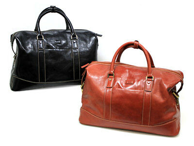 Leather Condotti Holdall Travel Bag 60211