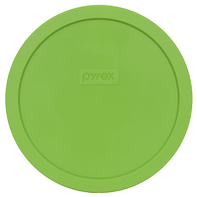 Pyrex 7402-PC Green Plastic Round 6/7 Cup Storage Lid Cover for Glass Bowl