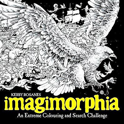Imagimorphia Adult Colouring Book (New Large Mindfulness Art Therapy Craft P/B)