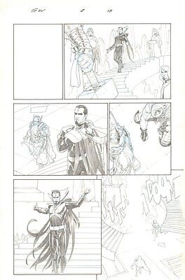 Secret Wars #2 p.15 - Mister Sinister, Young & Old King Thor 2015 by Esad Ribic