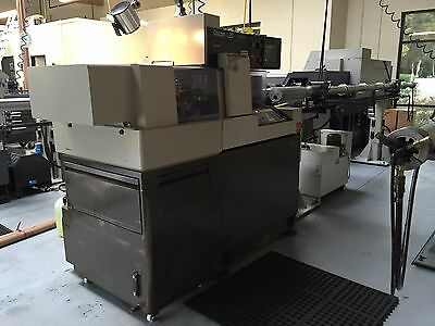 1994 Citizen L-20 Type VII CNC SWISS LATHE, Sub Spindle, Live Tools
