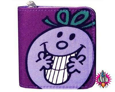 Mr Men Little Miss Naughty Purple Girls Coin Clip Purse Wallet New With Tags