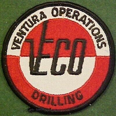 Ventura Operations Drilling Company on White Twill Patch