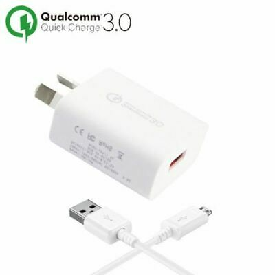 Genuine Samsung 9V Adaptive Fast Wall Charger+USB 2.0 Cable Galaxy S7 S6 Note 5