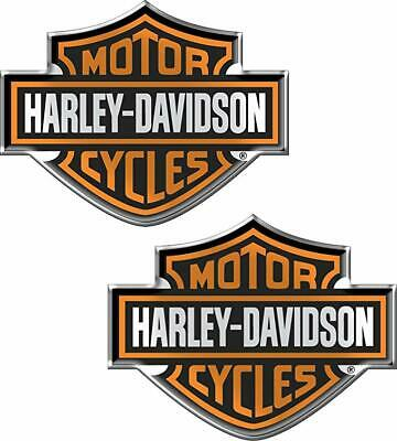 Harley-Davidson Domed Auto Emblems
