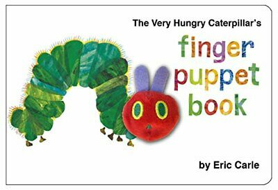 The Very Hungry Caterpillar Finger Puppet Book by Carle, Eric Hardback Book The