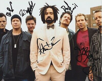 Counting Crows Signed 8X10 Photo