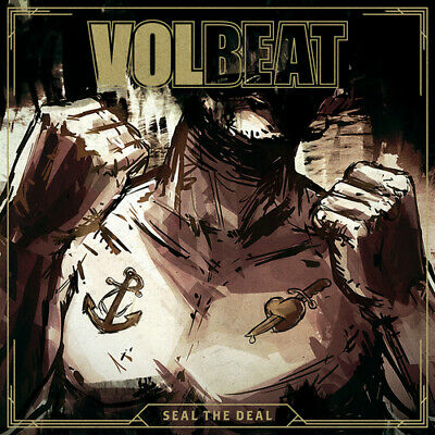 Volbeat : Seal the Deal & Let's Boogie CD (2016) ***NEW***