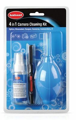 Hahnel 4 in 1 Camera Cleaning Kit with Cleaning Solution Pen, Blower and Cloth