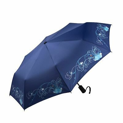 Mosiso auto open close compact folding travel umbrella rain windproof stroller