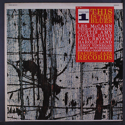 VARIOUS: This Is The Blues, Vol. 1 LP (Mono, rubber stamp obc) Jazz