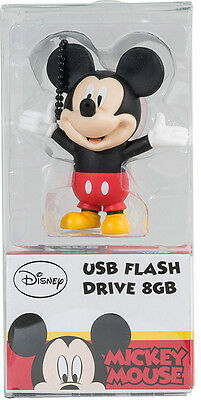 Disney Topolino Mickey Mouse Chiavetta USB Pendrive 8Gb TRIBE
