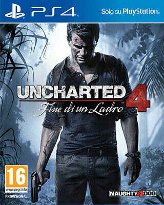 Uncharted 4 Fine Di Un Ladro PS4 Playstation 4 SONY COMPUTER ENTERTAINMENT