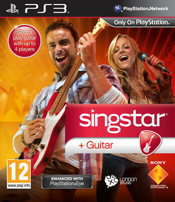 Singstar Guitar PS3 Playstation 3 SONY COMPUTER ENTERTAINMENT