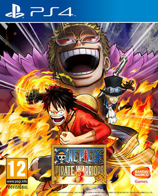One Piece Pirate Warriors 3 PS4 Playstation 4 NAMCO