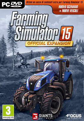 Farming Simulator 15 Official Expansion Espansione PC FOCUS