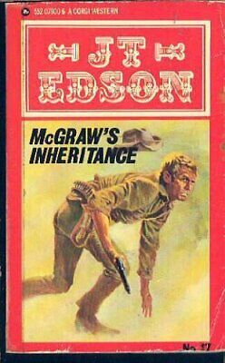 McGraw's Inheritance (A Corgi western) by Edson, J. T. Paperback Book The Cheap