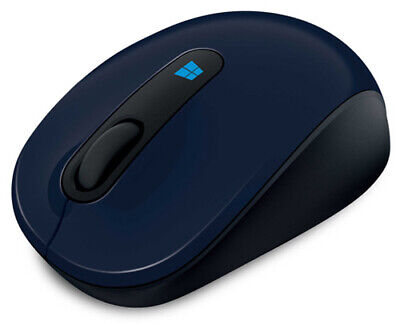 MS Microsoft Mobile Mouse Wireless Sculpt Wool Blue 43U-000 MICROSOFT