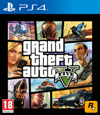 Grand Theft Auto V GTA 5 PS4 Playstation 4 TAKE TWO INTERACTIVE