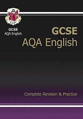 GCSE English AQA Complete Revision & Practice, CGP Books Paperback Book The