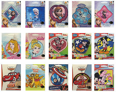 Disney Iron on Patch - Frozen - Elsa - Cars - Pooh - Minnie Embroidered Sewing