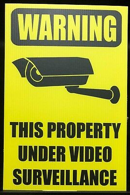This Property under constant video surveilance - A202