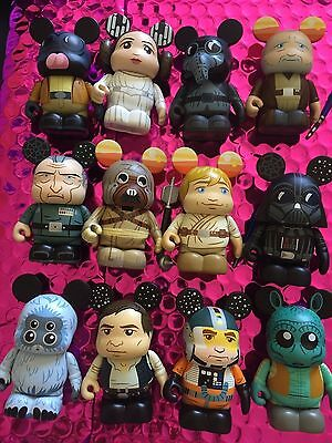 "Disney Vinylmation 3"" Star Wars Series 2 Complete Set of 12 with Garindan Chaser"