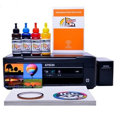 Epson WF-2010w  A4 WITH SUBLIMATION INK PRINTER Bundle ciss system