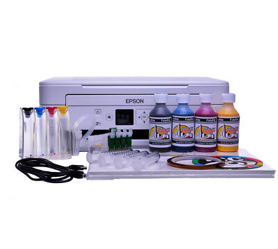 Epson WF-2010w A4 sublimation starter kit with ciss ink system bundle