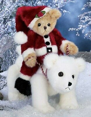 Santa's Magical Ride Limited Edition 2014 from Bearington Bears Collection NWT