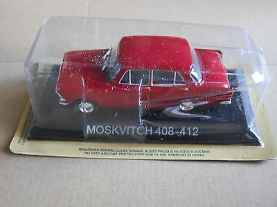 Legendary Cars Auto Die Cast Scala  1:43 CCCP - MOSKVITCH 408 412   [MZ]