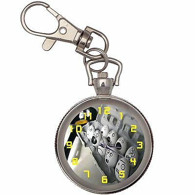 New The Eggs Fear The Spanish Omelette Recipe Key Chain Keychain Pocket Watch