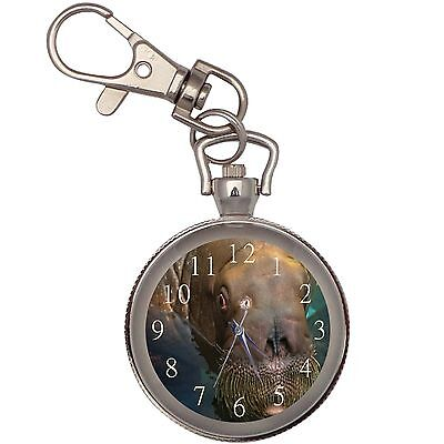 New Walrus Key Chain Keychain Pocket Watch