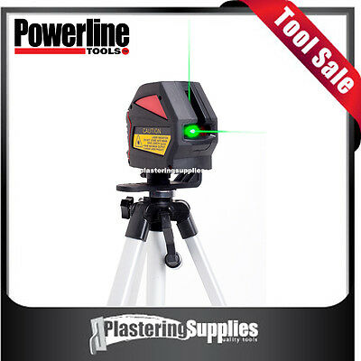 Powerline X2G Green Beam Crossline  Laser Level  3 Year Warranty
