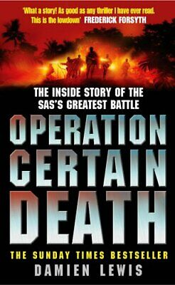 Operation Certain Death by Lewis, Damien Paperback Book The Cheap Fast Free Post