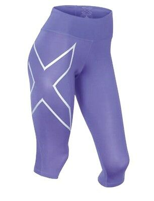 2Xu Ladies Compression Mid-Rise 3/4 Tights Genuine 2Xu New In Box