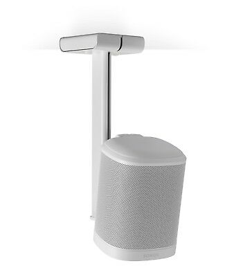 Flexson FLXP1CM1011 Ceiling Roof Stand / Mount for Sonos PLAY 1 SINGLE White