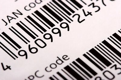 """TRACKED Mail"" Bar Code Postal Stickers Labels tracking tracked post delivery"