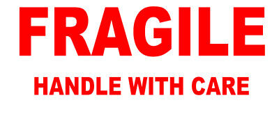 650+ - FRAGILE - Handle With Care Labels Small Stickers