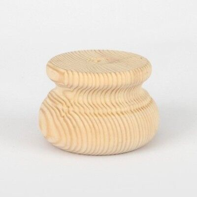 Wooden Foot/ Moulded Bun/ Wood/ Pine/ Furniture/* LARGE & SMALL** PICK QUANTITY*