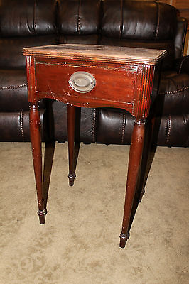 VINTAGE 1 DRAWER NIGHT STAND end table