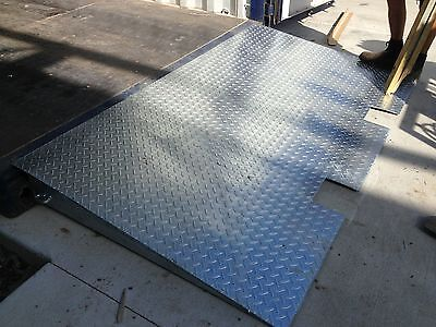 New Galvanised Container Loading Ramp 7T 2.2M X 1.25M Nth Queensland Forklift