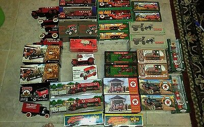 Texaco truck collection, most unopened, two of almost each