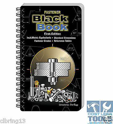Fastener Black Book First Edition By Rapp Pat - Laminated Grease Proof Fasteners
