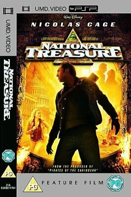 National Treasure [UMD Mini for PSP] - DVD 2 ZMVG The Cheap Fast Free Post