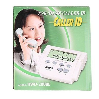 FSK /DTMF Dual System Automatically Compatible Mini Caller ID Telephone Landline